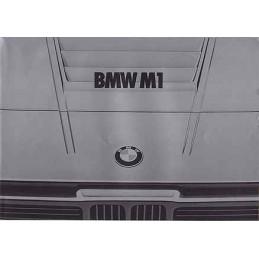 Catalogue / Leaflet BMW M1...