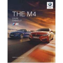 Catalogue / Brochure BMW M4...
