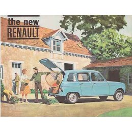 Catalogue / Sheet Renault 4...