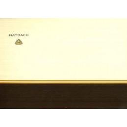 Catalogue / Leaflet Maybach...