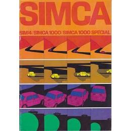 Catalogue / Brochure SIMCA...