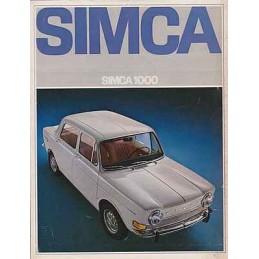 Catalogue / Sheet SIMCA...