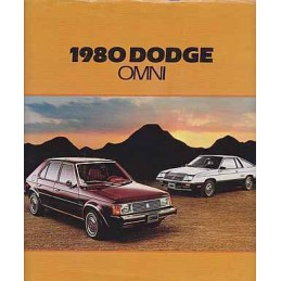 Catalogue / Brochure DODGE...