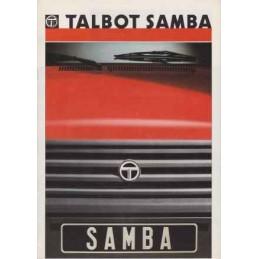 Catalogue / Brochure TALBOT...