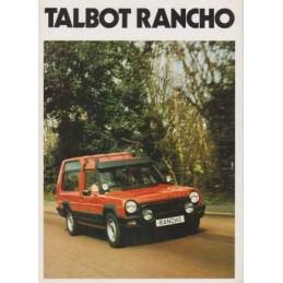Catalogue / Leaflet TALBOT...