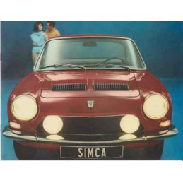 Catalogue / Brochure SIMCA...