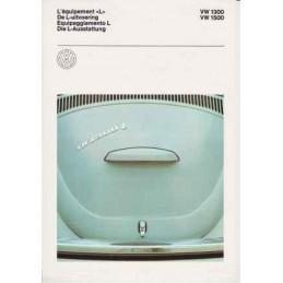 Catalogue / Sheet VW 1300L...