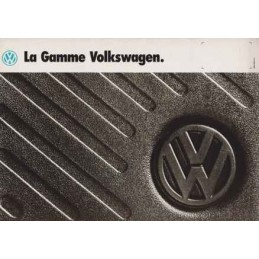 Catalogue / Brochure VW /...