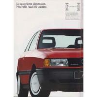 AUDI 80 1986 - 1992