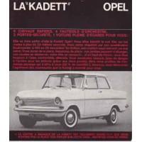 OPEL KADETT A 1962 - 1965
