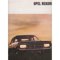 OPEL REKORD C 1967 - 1972