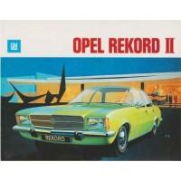 OPEL REKORD D 1972 - 1977
