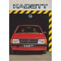 OPEL KADETT D 1979 - 1984