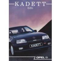 OPEL KADETT E 1984 - 1992
