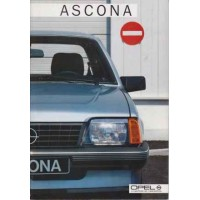OPEL ASCONA C 1982 - 1988