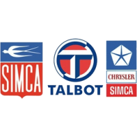 SIMCA - TALBOT - CHRYSLER FRANCE