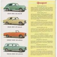 Peugeot gamme
