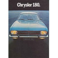 SIMCA CHRYSLER 160 180 2L