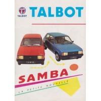 TALBOT SAMBA