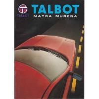 TALBOT MATRA MURENA