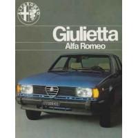ALFA ROMEO GIULIETTA 1977 1984