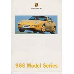 Catalogue Porsche 968...